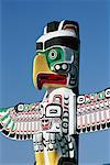 Totem Pole, Stanley Park, Vancouver, British Columbia, Canada    Stock Photo - Premium Rights-Managed, Artist: J. A. Kraulis, Code: 700-00317112