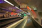 Subway Paris, France    Stock Photo - Premium Rights-Managed, Artist: George Simhoni, Code: 700-00328897