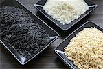 Plates of Rice    Stock Photo - Premium Rights-Managed, Artist: Ron Fehling, Code: 700-00342856