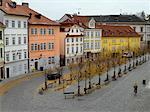 Overview of Street, Prague, Czech Republic    Stock Photo - Premium Rights-Managed, Artist: David Zimmerman, Code: 700-00343233