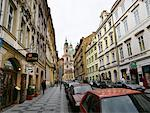Street Scene, Prague, Czech Republic    Stock Photo - Premium Rights-Managed, Artist: David Zimmerman, Code: 700-00343235