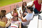 Teenagers with Cellular Phones    Stock Photo - Premium Rights-Managed, Artist: Artiga Photo, Code: 700-00356944