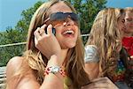 Girl with Cellular Telephone    Stock Photo - Premium Rights-Managed, Artist: Artiga Photo, Code: 700-00356946