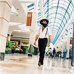 Amish Man in Shopping Mall    Stock Photo - Premium Rights-Managed, Artist: Anthony Redpath, Code: 700-00357646