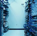 Server Room    Stock Photo - Premium Rights-Managed, Artist: David Papazian, Code: 700-00361310