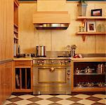 Kitchen    Stock Photo - Premium Rights-Managed, Artist: David Papazian, Code: 700-00361374