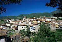 Loro Ciuffenna Tuscany, Italy    Stock Photo - Premium Rights-Managednull, Code: 700-00361785