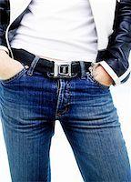 Woman Using Seatbelt as Belt    Stock Photo - Premium Royalty-Freenull, Code: 600-00362038