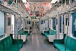 Interior of Train    Stock Photo - Premium Rights-Managed, Artist: Michael Clement, Code: 700-00363861