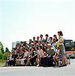 Tourist Group Portrait    Stock Photo - Premium Rights-Managed, Artist: Michael Clement, Code: 700-00363865