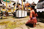 Girl Praying In Temple Penestanan, Bali, Indonesia    Stock Photo - Premium Rights-Managed, Artist: Carl Valiquet, Code: 700-00364290