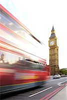 Double-decker bus and Big Ben in London, England Stock Photo - Premium Royalty-Freenull, Code: 604-00365101