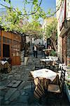 Cafe in The Plaka Athens, Greece    Stock Photo - Premium Rights-Managed, Artist: Alberto Biscaro, Code: 700-00368001