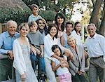Portrait of a Large Generation Family Stock Photo - Premium Royalty-Free, Artist: Robert Harding Images, Code: 613-00373201