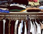 Clothes in cupboard Stock Photo - Premium Royalty-Free, Artist: Amy Whitt, Code: 614-00398690