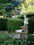 Statue in Garden    Stock Photo - Premium Rights-Managed, Artist: Alison Barnes Martin, Code: 700-00404173