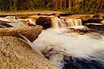Coral Falls, Sambaa Deh Falls Territorial Park, Northwest Territories, Northwest Territories, Canada    Stock Photo - Premium Rights-Managed, Artist: J. A. Kraulis, Code: 700-00424220