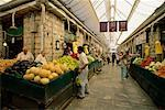 People Shopping at the Market, Jerusalem, Israel