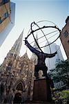 Atlas Statue, Rockefeller Center, New York, New York, USA