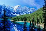 Moraine Lake, Banff National Park, Alberta, Canada    Stock Photo - Premium Rights-Managed, Artist: Roy Ooms, Code: 700-00430821