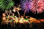 Firework Show    Stock Photo - Premium Rights-Managed, Artist: Gary Gerovac, Code: 700-00439188