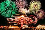 Firework Show    Stock Photo - Premium Rights-Managed, Artist: Gary Gerovac, Code: 700-00439190