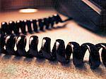 Telephone Cord    Stock Photo - Premium Rights-Managed, Artist: Andrew Kolb, Code: 700-00439525