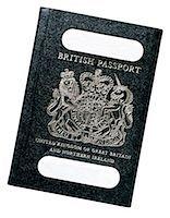 close-up of a British passport Stock Photo - Premium Royalty-Freenull, Code: 618-00451121