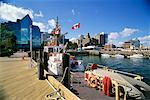 Halifax Waterfront, Nova Scotia, Canada    Stock Photo - Premium Rights-Managed, Artist: J. A. Kraulis, Code: 700-00459841