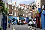 Street Scene, Shepherd's Gate, London, England    Stock Photo - Premium Rights-Managed, Artist: Philip Rostron, Code: 700-00476621