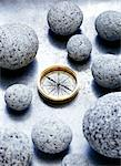 Compass and Stones    Stock Photo - Premium Rights-Managed, Artist: David Muir, Code: 700-00477226
