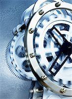 Clock Works    Stock Photo - Premium Rights-Managednull,