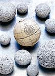 Globe and Stones    Stock Photo - Premium Rights-Managed, Artist: David Muir, Code: 700-00477239