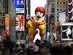 Macy's Thanksgiving Day Parade, Times Square, New York City