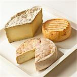 Three Cheeses    Stock Photo - Premium Rights-Managed, Artist: Michael Mahovlich, Code: 700-00477707