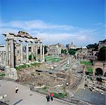 Overview of the Roman Hole, Rome, Italy    Stock Photo - Premium Rights-Managed, Artist: Alberto Biscaro, Code: 700-00477879
