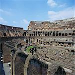 Interior of The Colosseum, Rome, Italy    Stock Photo - Premium Rights-Managed, Artist: Alberto Biscaro, Code: 700-00477884