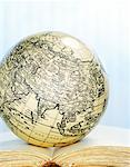 Antique Globe on Book    Stock Photo - Premium Rights-Managed, Artist: David Muir, Code: 700-00478815