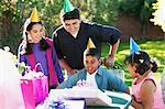 Children at Birthday Party    Stock Photo - Premium Rights-Managed, Artist: David Schmidt, Code: 700-00481638
