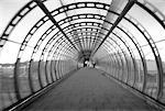 Walk bridge (black and white) Stock Photo - Premium Royalty-Free, Artist: Westend61, Code: 618-00486283
