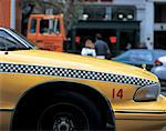 side profile close-up of the front of a taxi Stock Photo - Premium Royalty-Free, Artist: Robert Harding Images    , Code: 618-00501676