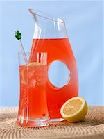 Rhubarb Lemonade    Stock Photo - Premium Rights-Managednull, Code: 700-00506826
