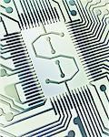 Dollar Sign on Circuit Board    Stock Photo - Premium Rights-Managed, Artist: Boden/Ledingham, Code: 700-00507061