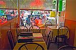 Interior of Chinese Restaurant, Toronto, Ontario, Canada    Stock Photo - Premium Rights-Managed, Artist: George Simhoni, Code: 700-00513897