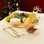 Cheese Tray    Stock Photo - Premium Rights-Managed, Artist: Edward Pond, Code: 700-00518979