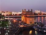 The Gateway of India at Dusk, Mumbai, India