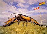 World's Biggest Lobster Monument, Shediac, New Brunswick, Canada