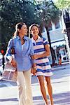 Mother and Daughter Shopping    Stock Photo - Premium Rights-Managed, Artist: Kevin Dodge, Code: 700-00522327