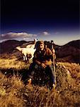 Portrait of a Shepherd    Stock Photo - Premium Rights-Managed, Artist: George Simhoni, Code: 700-00522511