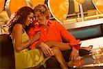 Couple in Nightclub    Stock Photo - Premium Rights-Managed, Artist: George Contorakes, Code: 700-00523113